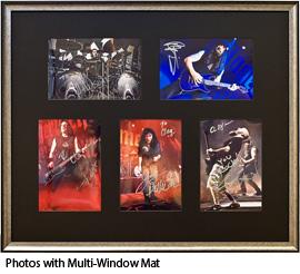 Photos with Multi-Window Mat