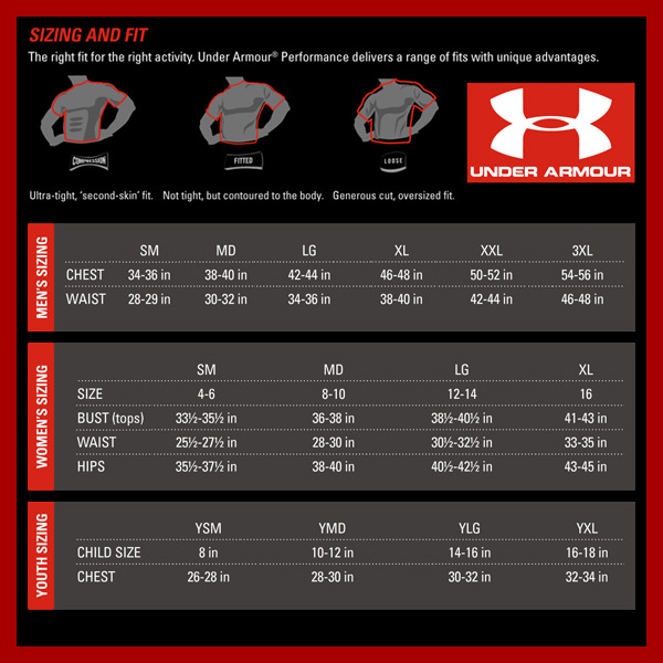 Under armour football gloves size chart cheap off65 the largest