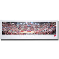 Blakeway Panorama UW Red and White Game Poster