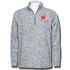 Champion Wisconsin Fleece ¼ Zip Sweater (Gray)