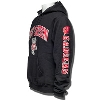 Champion Wisconsin Bucky Hooded Sweatshirt (Black) thumbnail