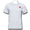 Champion Wisconsin Badgers Embroidered T-Shirt 3X (Gray)