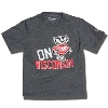 Champion Youth On Wisconsin T-Shirt (Granite) *