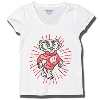 Champion Youth Glitter Bucky Badger T-Shirt (White) *