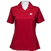 Cutter & Buck Women's Wisconsin Badgers Genre Polo (Red) *