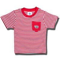 Creative Knitwear Bucky Badger Infant/Toddler T-Shirt (R/W)