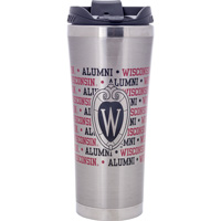 Neil Enterprises, Inc. Wisconsin Alumni Travel Mug