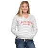 Gear for Sports Women's Wisconsin Hoodie (Gray/White) *