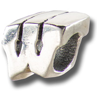 Dayna U 3-D Wisconsin Badger Motion W Bead