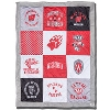 League Wisconsin Badger Patch Blanket (Multi)