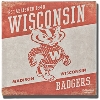 Legacy Vault Wisconsin Badgers Canvas Print
