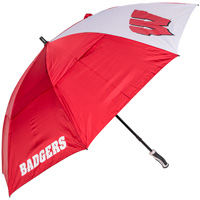 Team Effort Wisconsin Badger Windsheer Umbrella