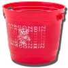 Spirit Products Wisconsin Badgers Party Bucket (Red)