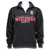 JanSport University of Wisconsin ¼ Zip Sweatshirt 3X (Black)