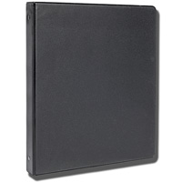 "1"" O-Ring Binder (Black)"