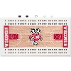 Rico Wisconsin Badgers Basketball Cribbage Board