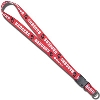 Neil Enterprises, Inc. Satin Badgers Lanyard (Red)