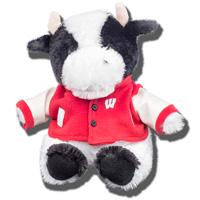 Mascot Factory Wisconsin Cow Plush