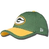New Era Fitted Green Bay Packers Hat (Green/Gold)