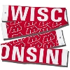The Game Wisconsin Scarf (Red/White)
