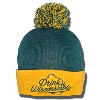 Top Promotion Drink Wisconsinbly Pom Winter Hat (Green/Gold)