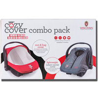Cozy Cover Wisconsin Badgers Combo Pack *