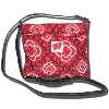 The Honour Society Wisconsin Badger Cross Body Bag (Red)*