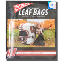 Fabrique Innovations Inc. Wisconsin Helmet Leaf Bag *