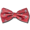 Jardine Bucky Badger Bow Tie (Red)
