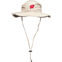 The Game Wisconsin Badgers W Boonie Hat (Khaki)
