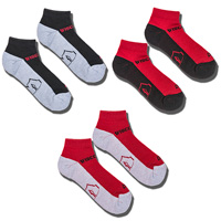 '47 Brand Wisconsin Badgers 3 Pack Socks Low Cut (R/B/W)