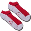 '47 Brand Wisconsin Badgers 3 Pack Socks No Show (R/B/W) thumbnail