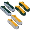 '47 Brand Green Bay Packer 3 Pack Socks (Gold/Green/Gray)