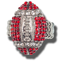 Card Emporium Football Ring (Red)*