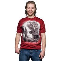 Jardine Badger Photo T-Shirt (Dark Red)