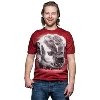 Jardine Badger Photo T-Shirt (Dark Red)