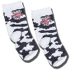 For Bare Feet Kid's Cow Socks (Black/White)