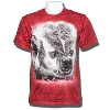 Jardine Badger Photo T-Shirt 3X (Dark Red)