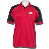 Antigua Wisconsin Badgers Century Polo (Red/Black)