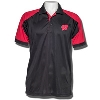 Antigua Wisconsin Badgers Century Polo (Black/Red) *
