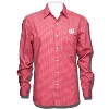 Antigua Wisconsin Badgers Division Button Down (Red Plaid) *