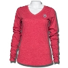 Antigua Women's Bucky Badger Long Sleeve T-Shirt (Red)