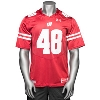 Under Armour WI Replica Football Jersey #48 (Red) 3X/4X *