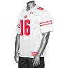 Under Armour WI Replica Football Jersey #16 (White) 3X/4X * thumbnail