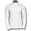 Under Armour Wisconsin Long Sleeve Mock Tee (White) *