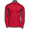 Under Armour Wisconsin Long Sleeve Mock Tee (Red) *