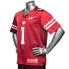 Under Armour Youth WI Replica Football Jersey #1 (Red) * thumbnail