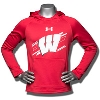 Under Armour Youth Wisconsin Ninja Hoodie (Red) *