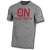 Under Armour On Wisconsin Iconic Tee (Gray)*