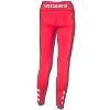 ZooZatz Women's Wisconsin Cutout Leggings (Red) * thumbnail